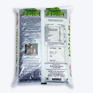 Mangal Coconut Powder 1 Kg Back